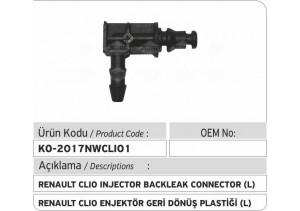 Renault Clio Enjektör Geri Dönüş Plastiği L
