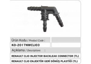 Renault Clio Enjektör Geri Dönüş Plastiği TL