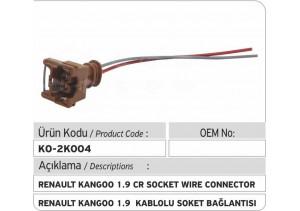 Renault Kangoo 1.9 Enjektör Kablolu Soket Bağlantı Plastiği