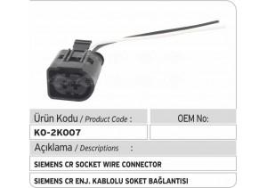 Siemens Common Rail Enjektör Kablolu Soket Bağlantısı