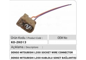 Denso Mitsubishi L200 Enjektör Kablolu Bağlantı Soketi