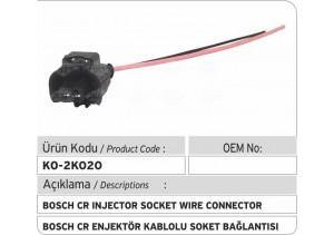 Bosch Common Rail Enjektör Kablolu Soket Bağlantısı