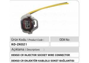 Denso Common Rail Enjektör Kablolu Soket Bağlantısı