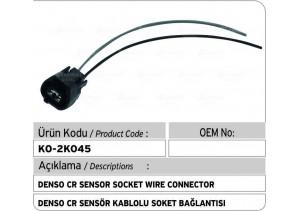 Denso CR Kablolu Soket Bağlantı Plastiği