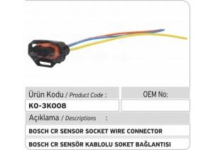 Bosch Common Rail Sensör Soket Bağlantı Plastiği