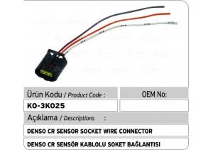 Denso Common Rail Sensör Soket Bağlantı Plastiği