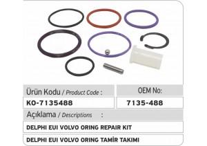 7135-488 Delphi EUI O-ring Tamir Kiti