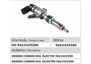 9663429280 Siemens Enjektör