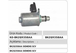 BK2Q9358AA Siemens Suction Control Valve