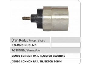 Denso Common Rail Injector Selonoid