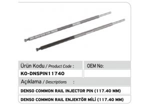 Denso Common Rail Enjektör Mili 117.40 mm