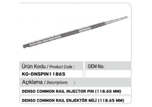 Denso Common Rail Enjektör Mili 118.65 mm