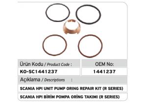 1441237 Scania Hpi Birim Pompa Tamir Takımı (R SERIES)