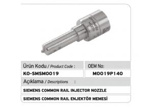 M0019P140 Siemens Enjektör Memesi
