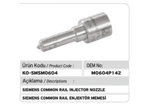M0604P142 Siemens Enjektör Memesi