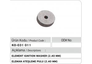 Eleman Ateşleme Pulu (2.40 mm)
