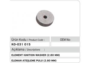 Eleman Ateşleme Pulu (2.80 mm)