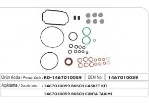 1467010059 Bosch Conta Takımı