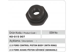 2.5 Ford Avans Piston Gövdesi (sekmanlı)