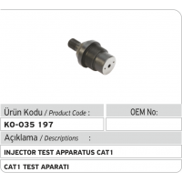 CAT 1 Injector Test Adaptor