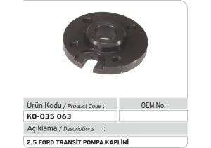 2.5 Ford Transit Pompa Kaplini