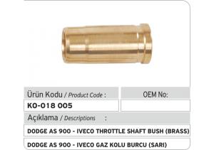 1460324333 Dodge AS 900-Iveco Gaz Kolu Burcu (pirinç)